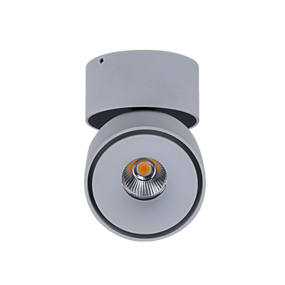 WB0712A-18A-12W 18W white colour indoor led surface wall spotlight 360° adjustable rotation