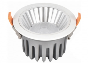 WY02 series-10W-15W-20W-30W-40W led downlight recessed IP44 Matt White