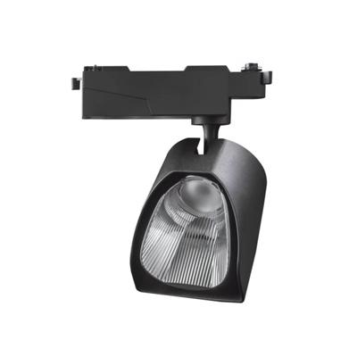 WTL0235 Cree Bridgelux Polarized 35W CRI ra90 Cob Led Track light with Lifud Driver Black Colour