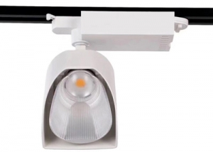WTL0235 Cree Bridgelux Polarized 35W CRI ra90 Cob Led Track light with Lifud Driver White Colour
