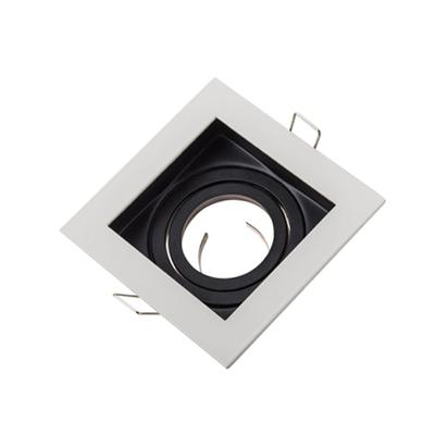 WM0303 Square recessed gu10 mr16 fixtures fittings socket bracket light holders